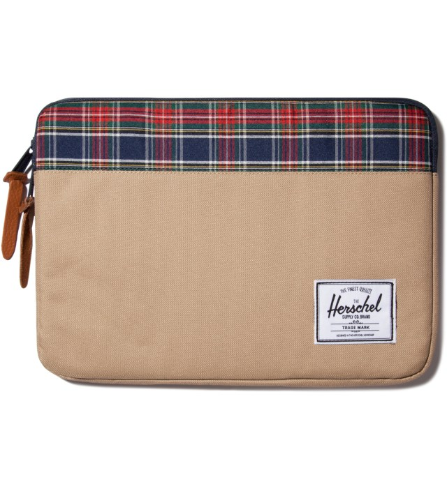 "Herschel Supply Co. Khaki Anchor 13"" Macbook Sleeve"