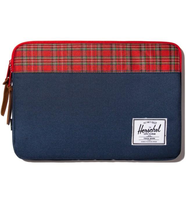 """Herschel Supply Co. Navy Anchor 13"""" Macbook Sleeve"""