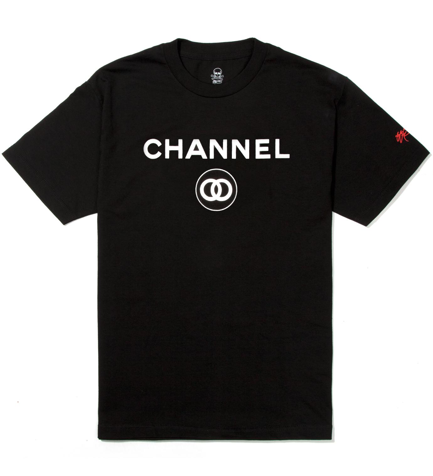 SSUR Black Channel Zero T-Shirt