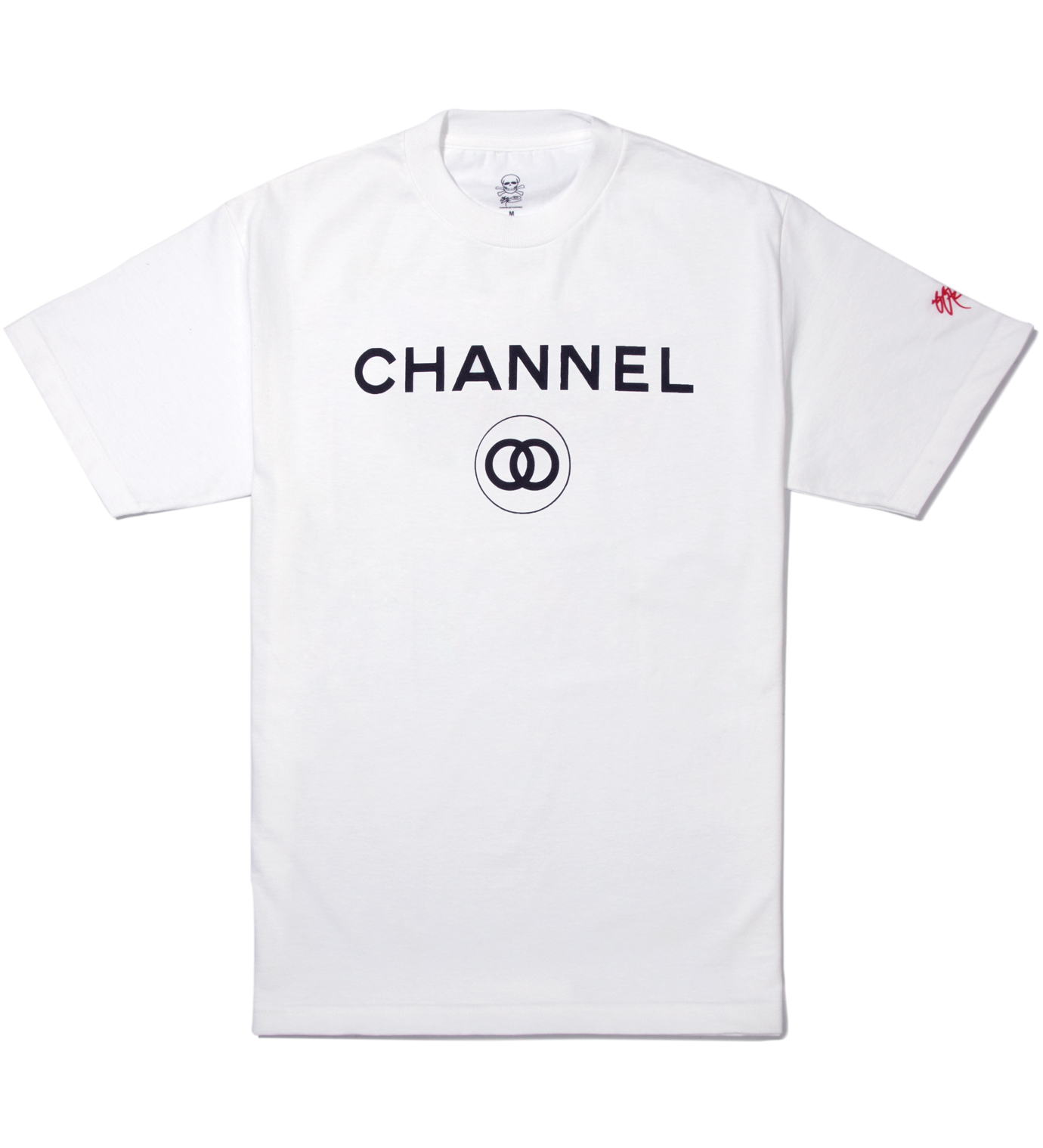 SSUR White Channel Zero T-Shirt