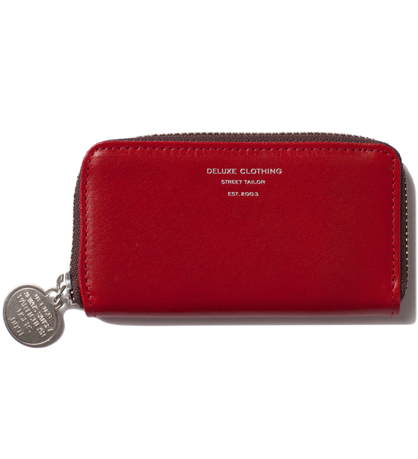 DELUXE Red Heads Or Tails Coin Purse