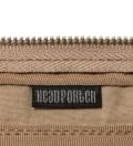 Head Porter Beige/White Pen Case
