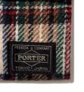 Head Porter Beige/White Lesson Wallet (M)