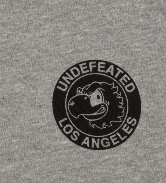 UNDEFEATED Heather Grey Mascot Circle Shorts