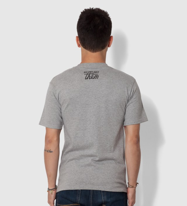 Us Versus Them Heather Grey Superior Seal T-Shirt