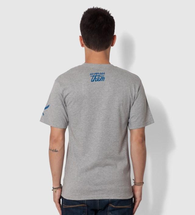 Us Versus Them Heather Grey Improvise Arrow T-Shirt