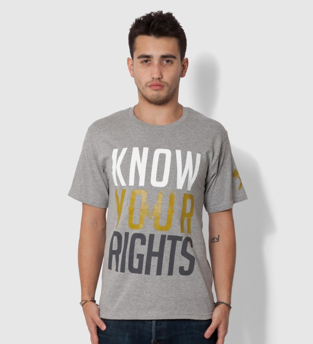 Us Versus Them Heather Grey Restrained T-Shirt