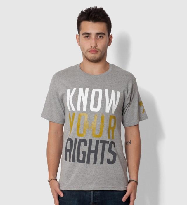 Us Versus Them Heather Grey Restrained T-Shirt