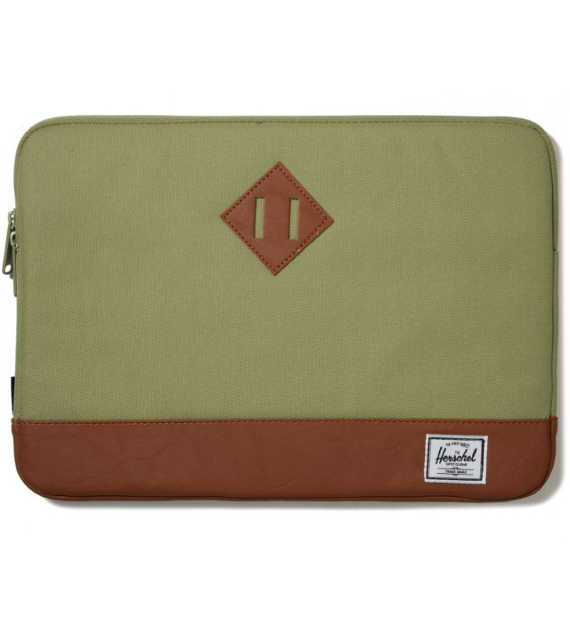 "Herschel Supply Co. Olive Drab Heritage 13"" Sleeve"