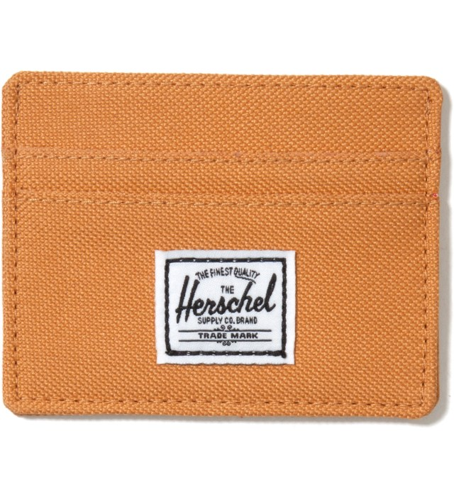 Herschel Supply Co. Butterscotch Charlie Card Holder