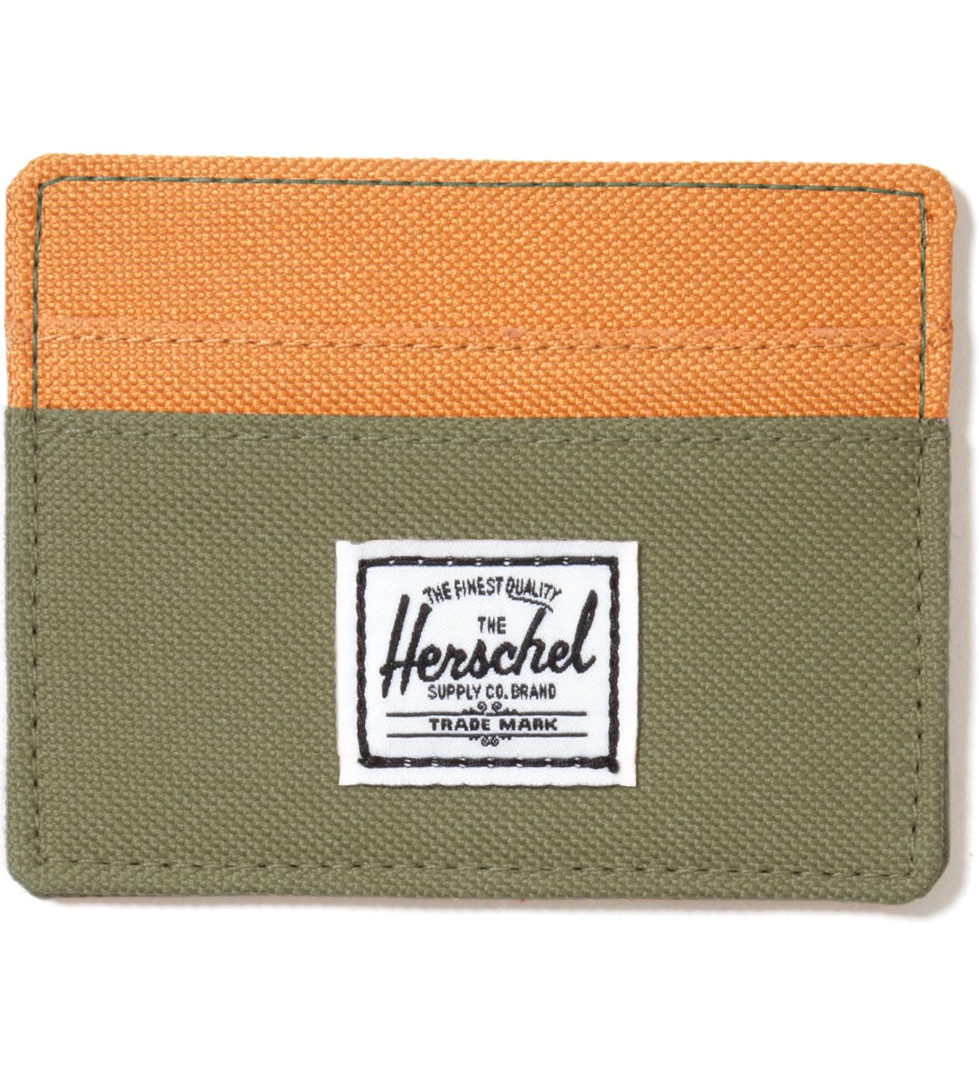Herschel Supply Co. Olive Drab Charlie Card Holder