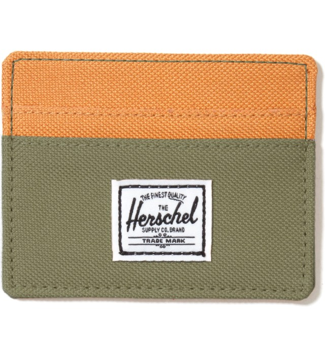 Herschel Supply Co. Olive Drab Charlie Card Holder