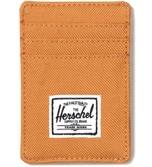 Herschel Supply Co. Butterscotch Raven Card Holder
