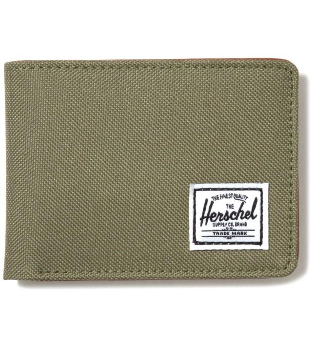 Herschel Supply Co. Olive Drab Hank Wallet