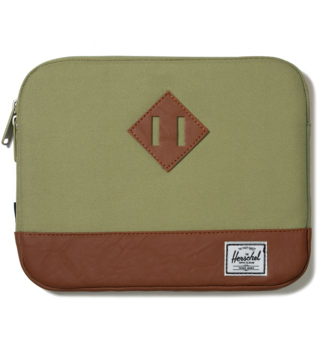 Herschel Supply Co. Olive Drab Heritage iPad Sleeve