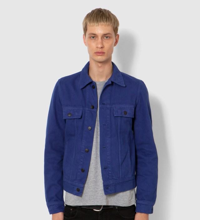 KRISVANASSCHE Lee® KRISVANASSCHE Blue Denim Inspired Blouson Jacket