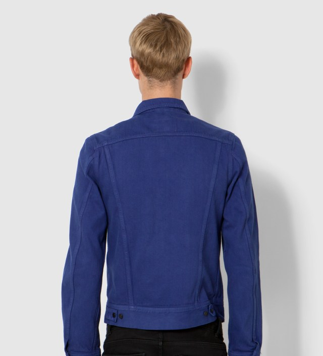 KRISVANASSCHE Lee® KRISVANASSCHE Blue Denim Inspired Blouson Jacket