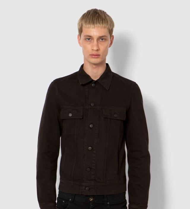 KRISVANASSCHE Lee® KRISVANASSCHE Dark Brown Denim Inspired Blouson Jacket