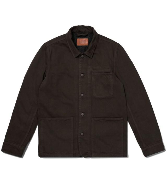 KRISVANASSCHE Lee® KRISVANASSCHE Dark Brown Workwear Jacket