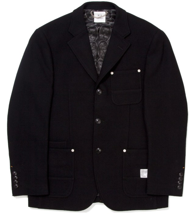 "BEDWIN & THE HEARTBREAKERS Stussy x The Heartbreaker Black ""Rick"" 3B Jacket"