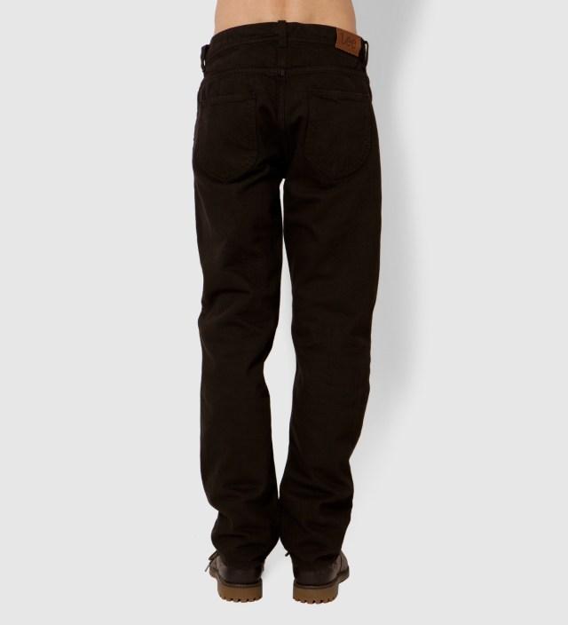 KRISVANASSCHE Lee® KRISVANASSCHE Dark Brown Inspired Trousers Jeans