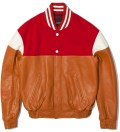 PHENOMENON Red Mixed Jacket