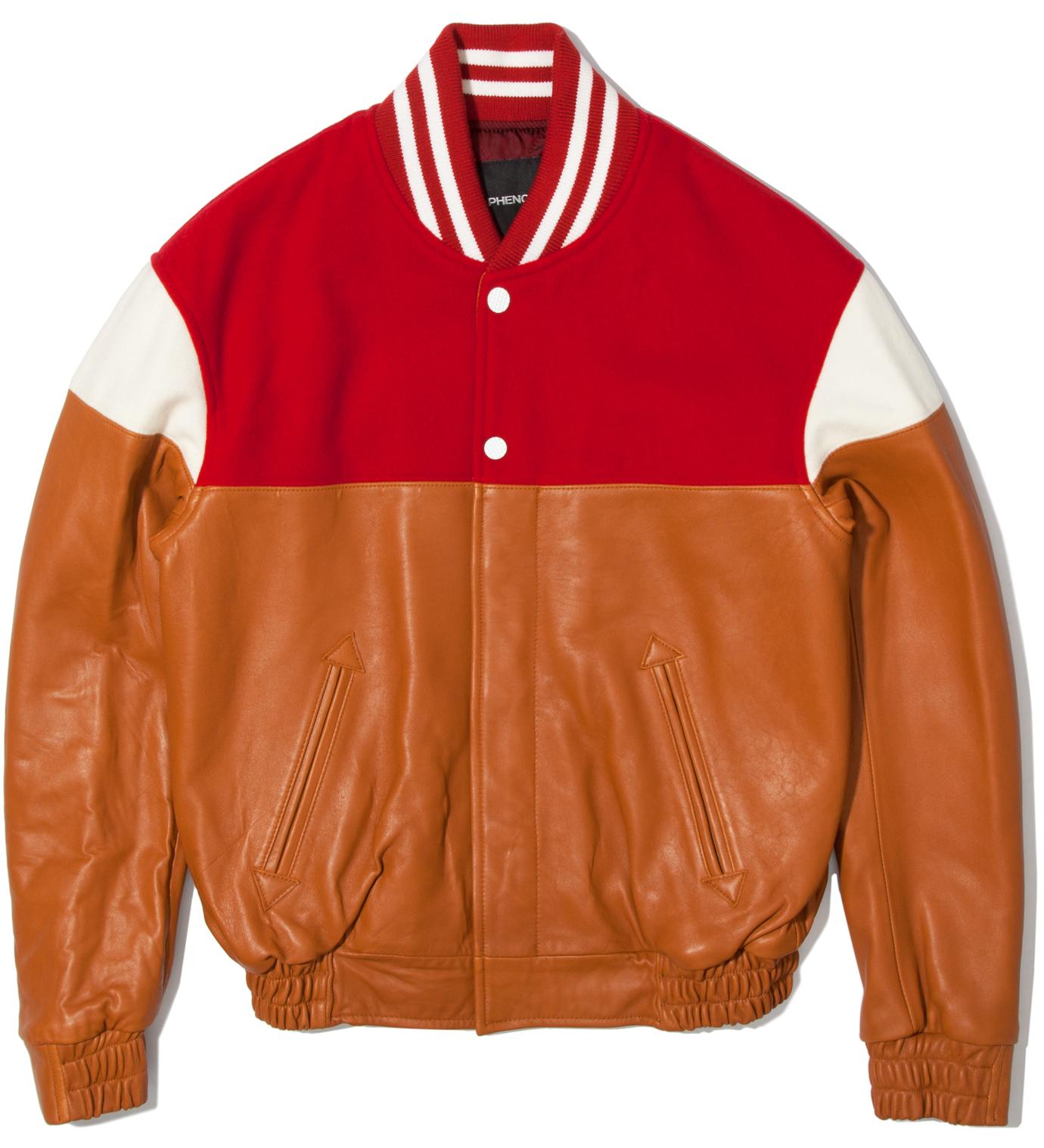 PHENOMENON Red Mixed Jacket