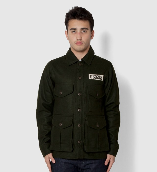 UNDEFEATED Olive U50 Jacket