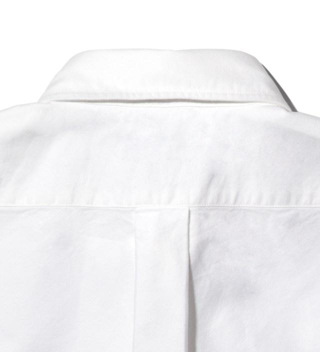 Head Porter Plus White Ox-Cross Shirt