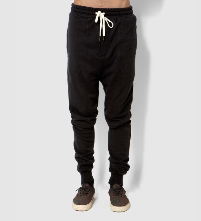 i love ugly. Black Zespy Track Pants