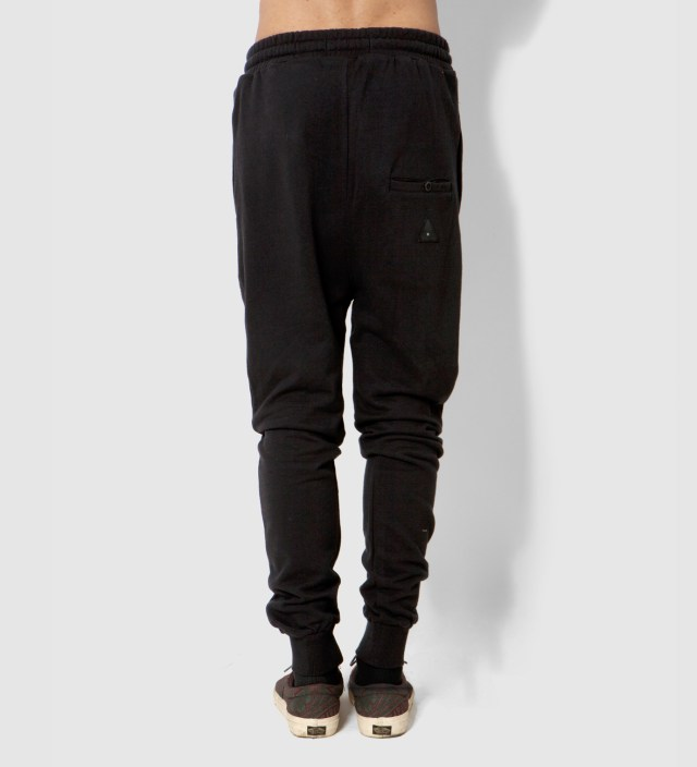 i love ugly. Black Zespy Track Pants