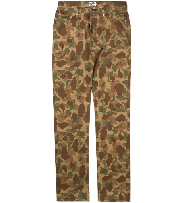 Naked & Famous Weird Guy Double Sided Camo