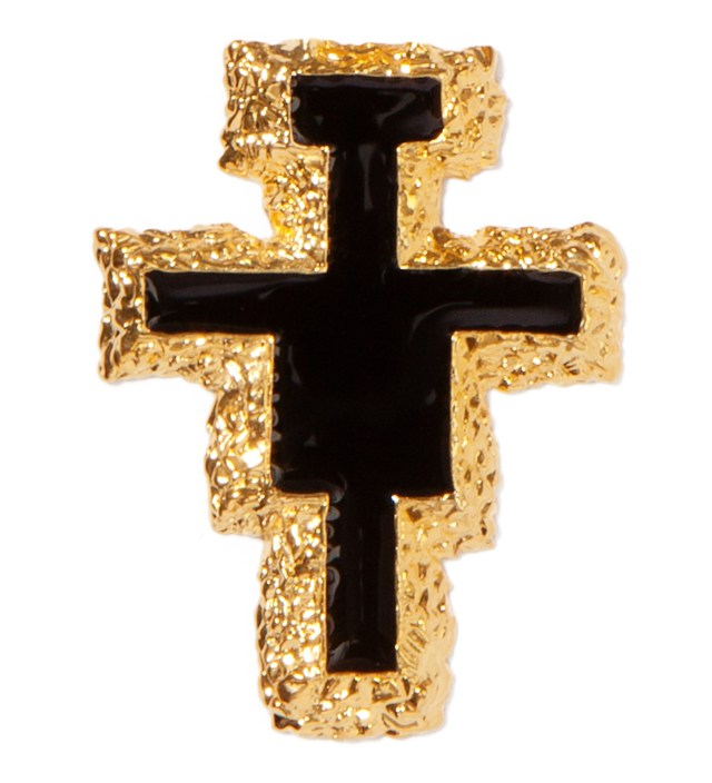 AMBUSH Gold Holy Mountain Pin Set