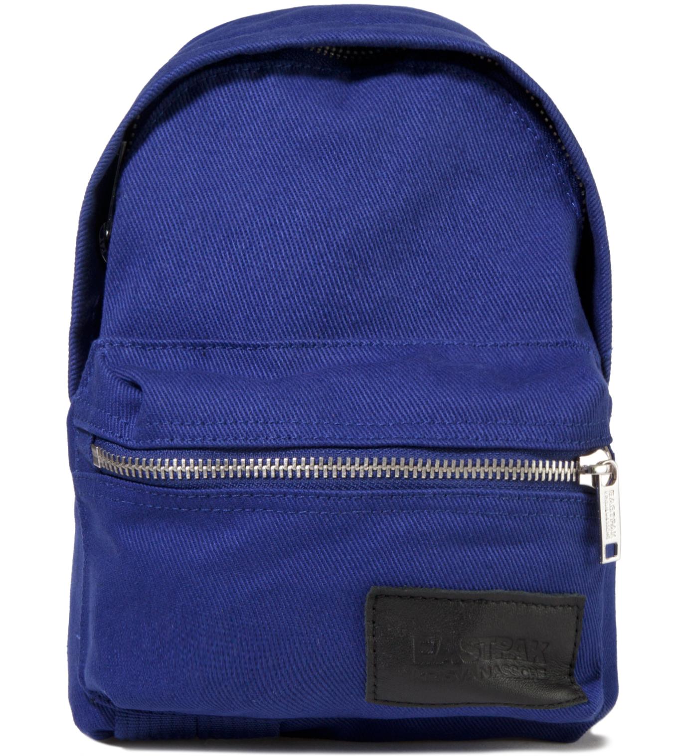 KRISVANASSCHE Eastpak KRISVANASSCHE Blue Cotton Mini Backpack Pouch
