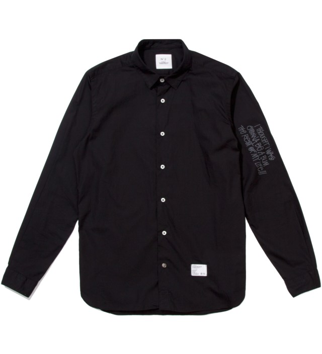 """BEDWIN & THE HEARTBREAKERS Stussy x The Heartbreaker Black Graphic """"Jean- Michel"""" Shirt"""