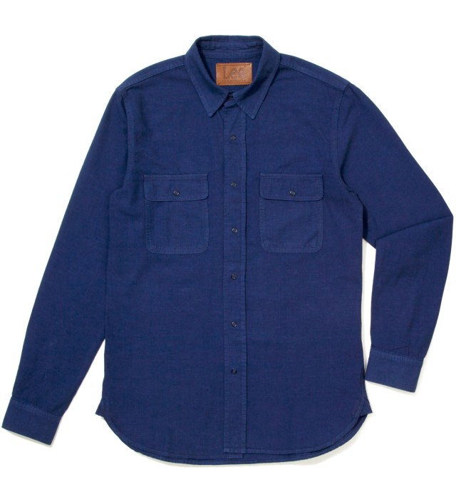 KRISVANASSCHE Lee® KRISVANASSCHE Blue Denim Inspired Shirt