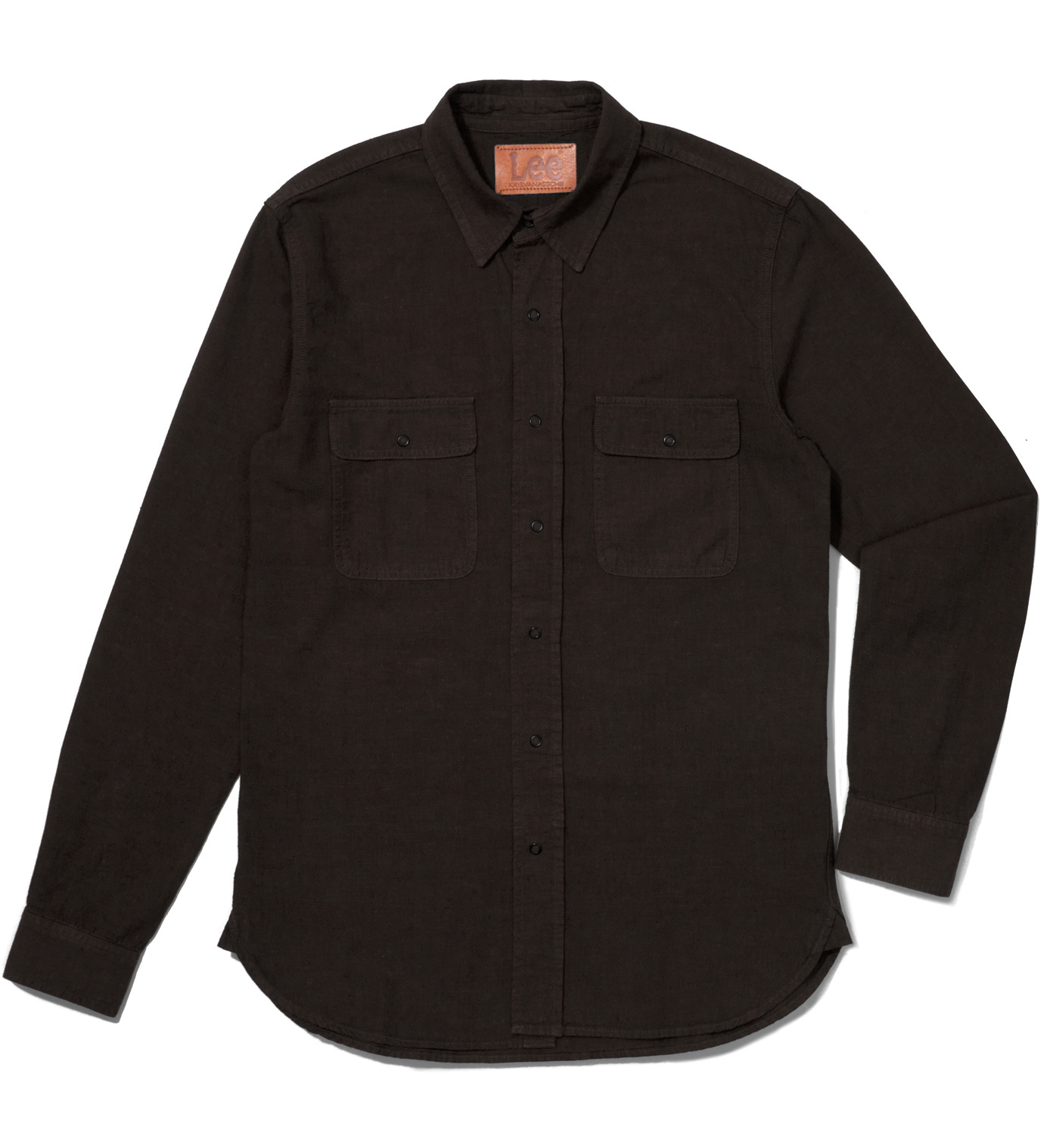 KRISVANASSCHE Lee® KRISVANASSCHE Dark Brown Denim Inspired Shirt