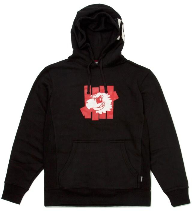 UNDEFEATED Black Mascot Strike Hoodie