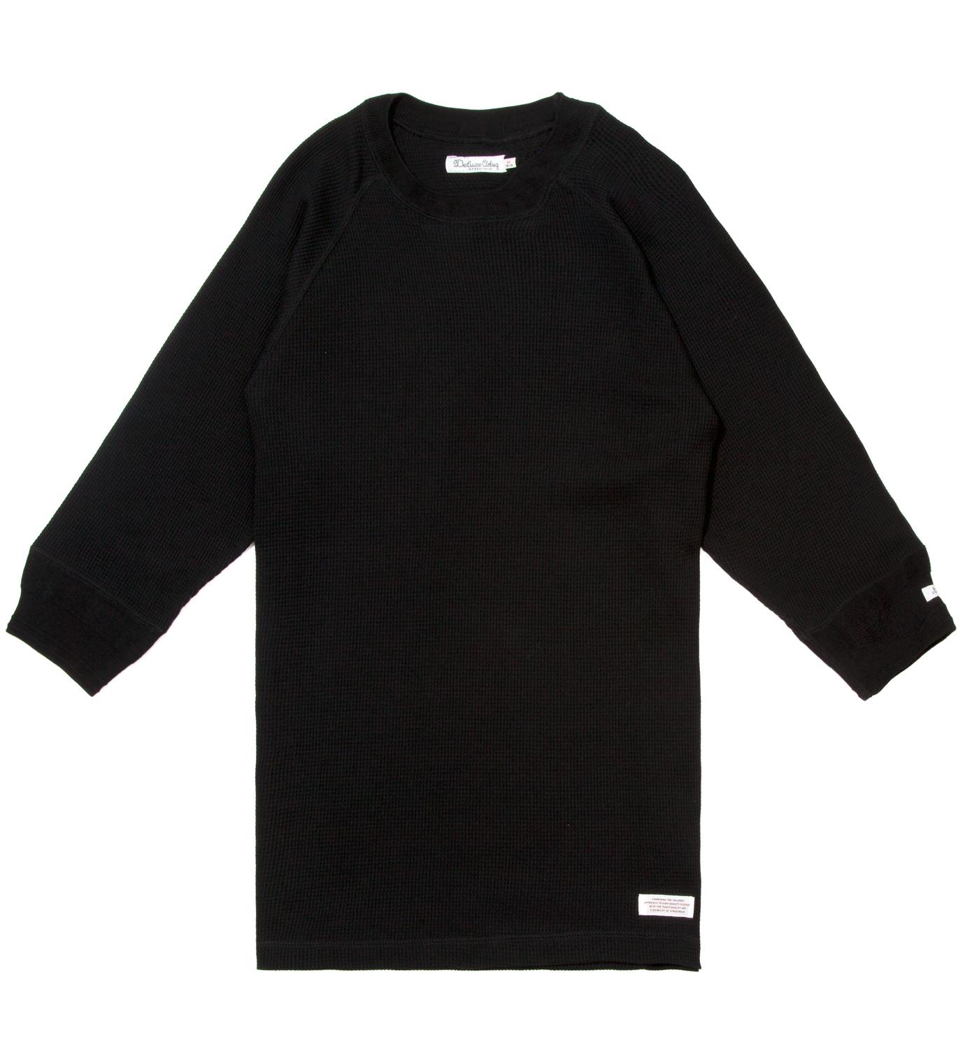 DELUXE Black Winston Crewneck Shirt