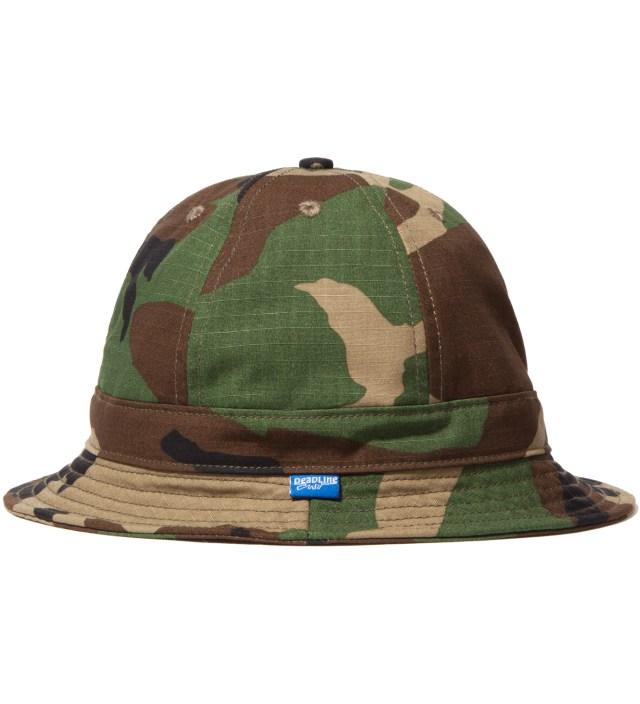 Tantum Tantum x Deadline Woodland Camo Liberty Bucket Hat