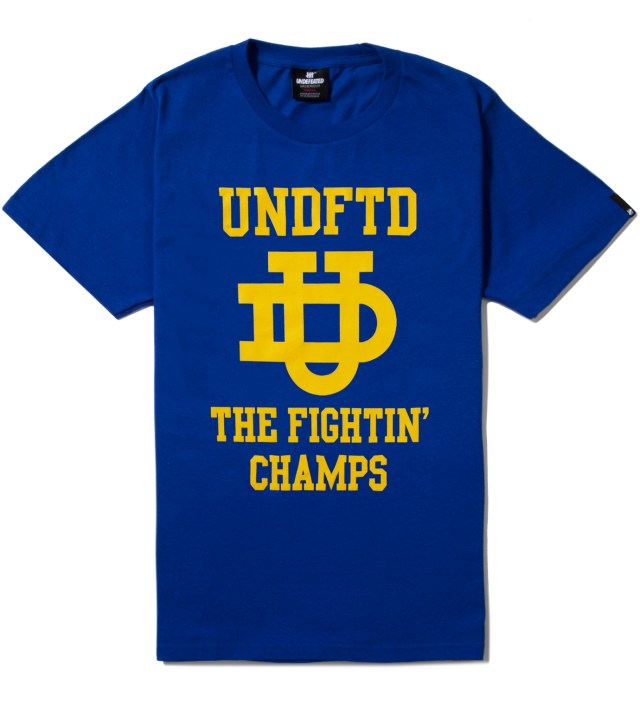 UNDEFEATED Royal Blue SS UD T-Shirt