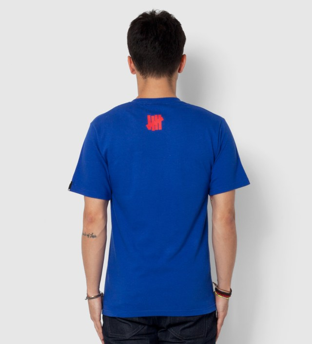 UNDEFEATED Royal Blue SS UNDFTD 10 T-Shirt