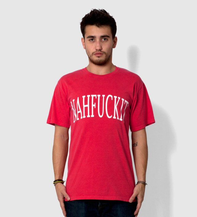 dertbag Coral NAHFUCKIT T-Shirt