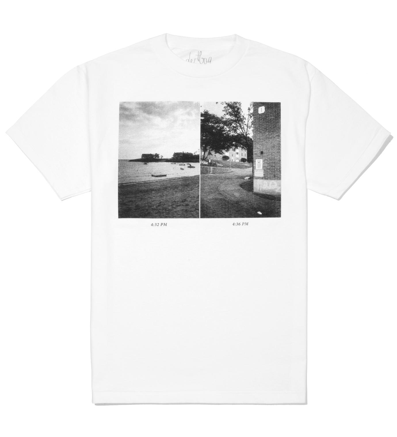 dertbag White Photo T-Shirt
