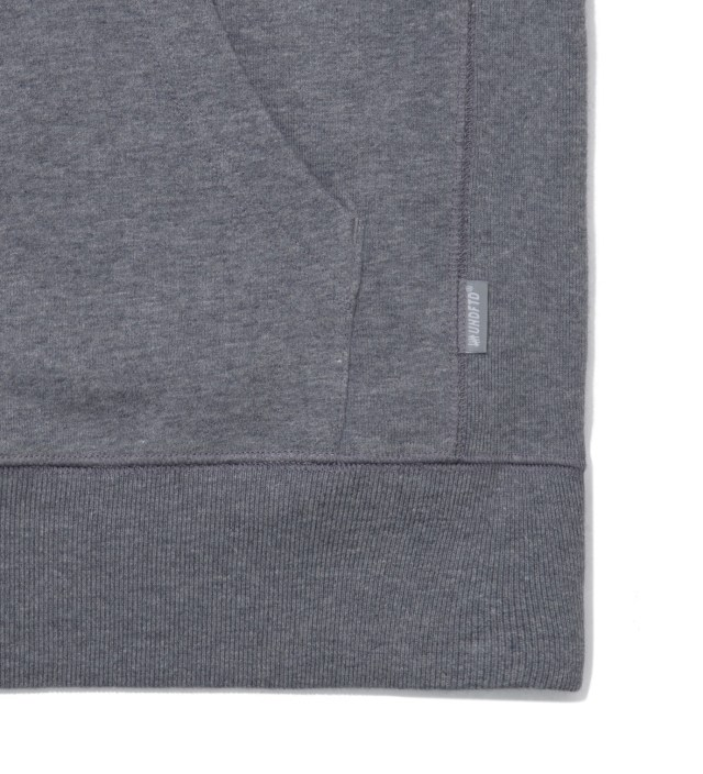 Undefeated Grey Heather Fightin' Champs Hoodie
