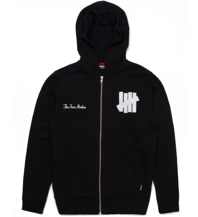 UNDEFEATED Black Fightin' Champs Hoodie