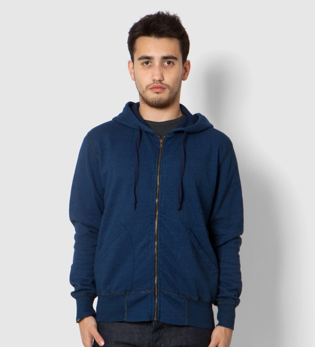 U.S. Alteration Navy Zip Up