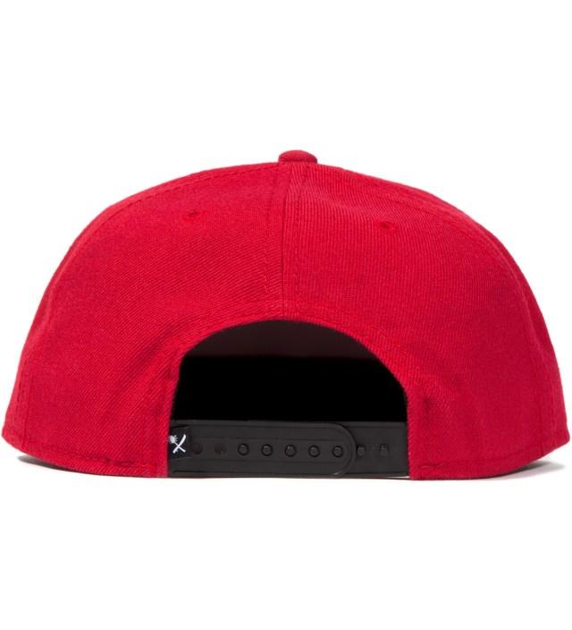 Us Versus Them Red Magnum Snapback Ballcap