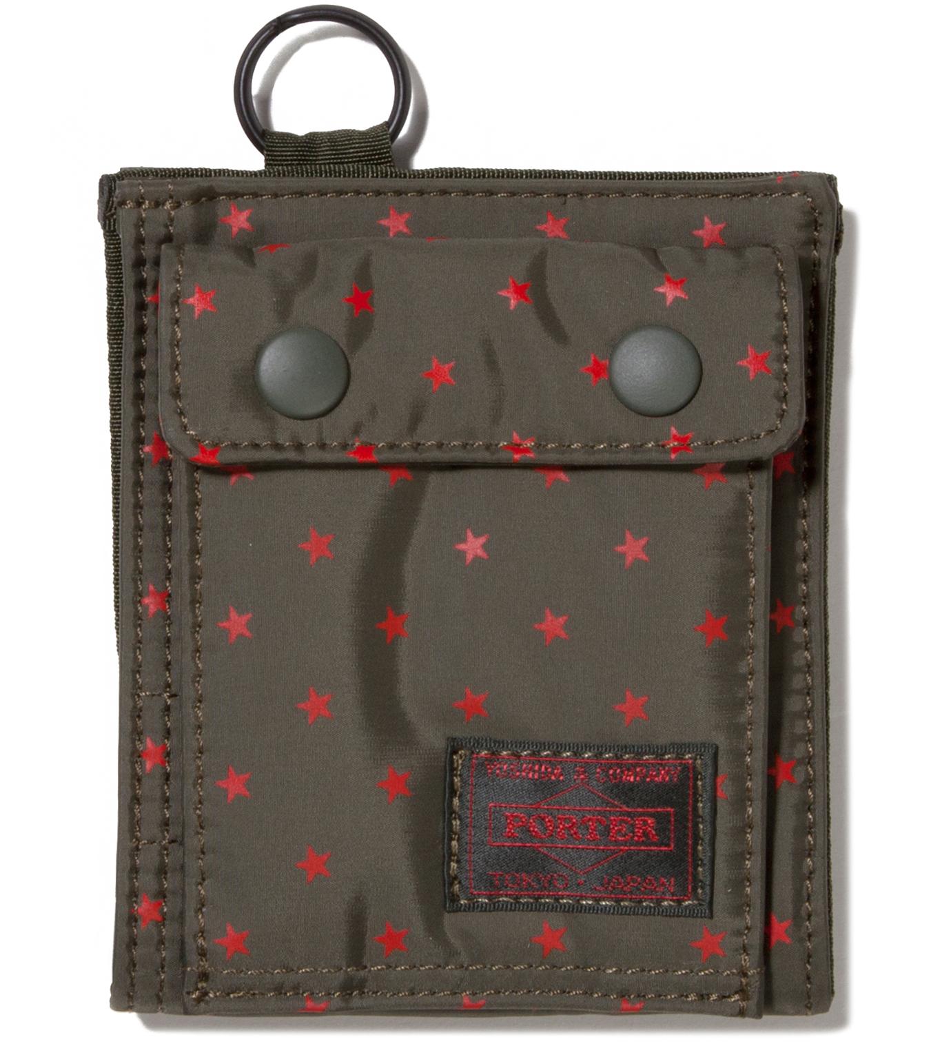 Head Porter Olive Stellar Wallet (S)
