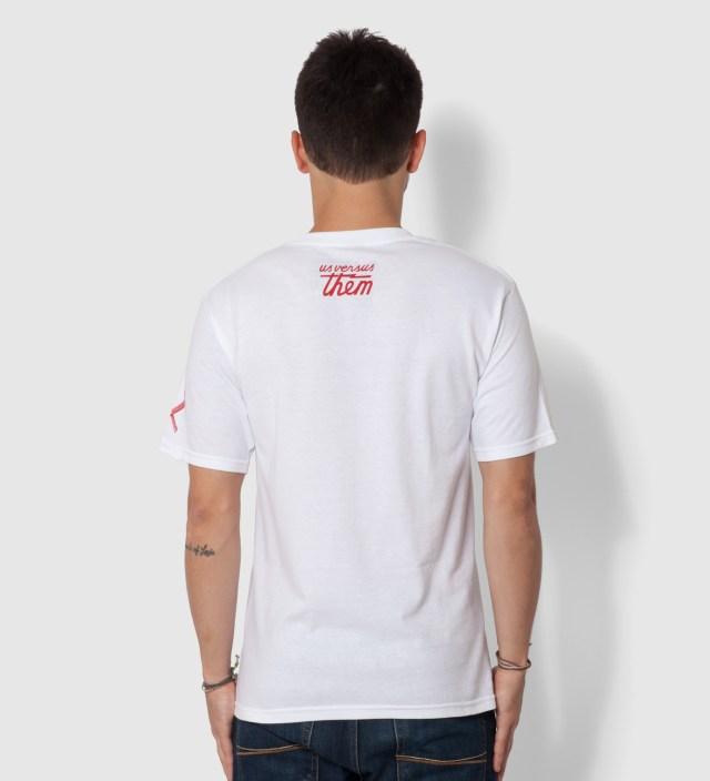 Us Versus Them White Gangland Donkey T-Shirt